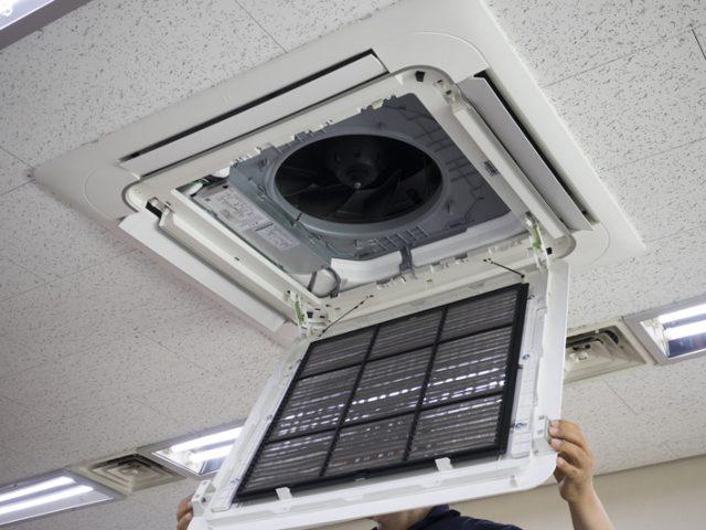 エアコン室内機点検