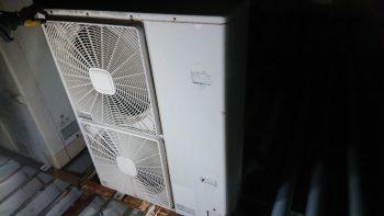 日立製 エアコン室外機