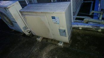 三菱製 エアコン室外機