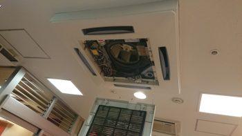 東芝 エアコン点検 室内