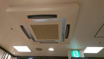 吸い込みグリル交換 エアコン室内機