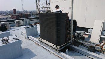 ダイキン工業製 室外機旧熱交換器