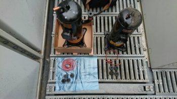 エアコン部品圧縮機