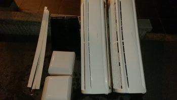 業務用エアコン パーツ洗浄