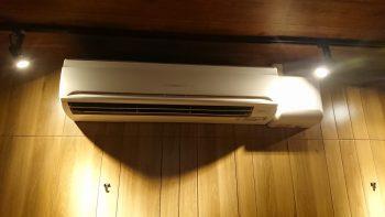 業務用エアコン 熱交換器洗浄後
