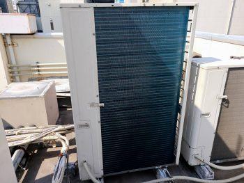 業務用エアコン室外機熱交換器